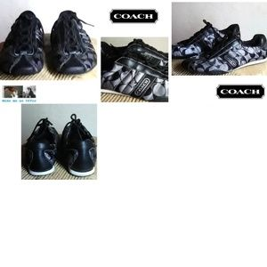 """Coach Kirby Sneakers Size 7 1/2"""""""
